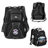 High Sierra Swerve Black Compu Backpack-Secondary Mark