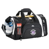 High Sierra Black 22 Inch Garrett Sport Duffel-Secondary Mark
