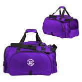 Challenger Team Purple Sport Bag-Secondary Mark