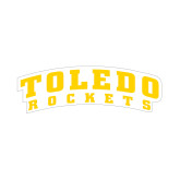 Medium Decal-Arched Toledo Rockets