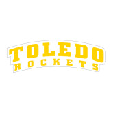 Large Decal-Arched Toledo Rockets