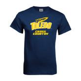 Navy T Shirt-Cross Country