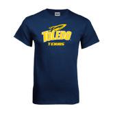 Navy T Shirt-Tennis