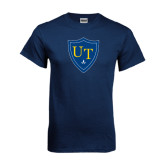 Navy T Shirt-University Mark