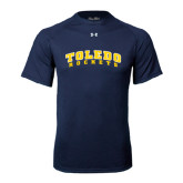 Under Armour Navy Tech Tee-Arched Toledo Rockets
