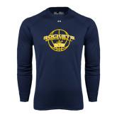 Under Armour Navy Long Sleeve Tech Tee-Basketball