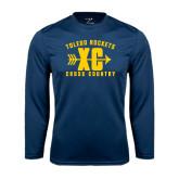 Syntrel Performance Navy Longsleeve Shirt-Cross Country