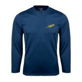 Syntrel Performance Navy Longsleeve Shirt-Rocket