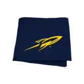Navy Sweatshirt Blanket-Rocket