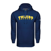 Under Armour Navy Performance Sweats Team Hoodie-Arched Toledo Rockets