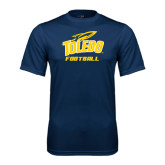 Syntrel Performance Navy Tee-Football