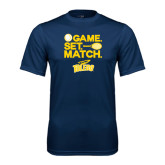 Syntrel Performance Navy Tee-Game Set Match