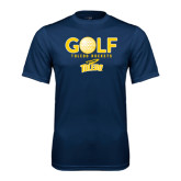 Syntrel Performance Navy Tee-Stacked Golf Design