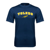 Syntrel Performance Navy Tee-Arched Toledo w/ Rocket