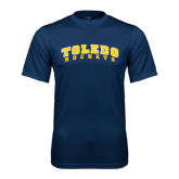 Syntrel Performance Navy Tee-Arched Toledo Rockets