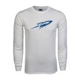 White Long Sleeve T Shirt-Rifle