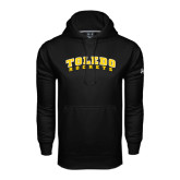 Under Armour Black Performance Sweats Team Hoodie-Arched Toledo Rockets