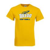 Gold T Shirt-Softball