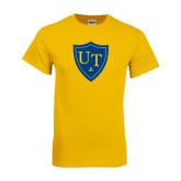 Gold T Shirt-University Mark