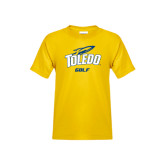 Youth Gold T Shirt-Golf