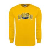 Gold Long Sleeve T Shirt-Baseball