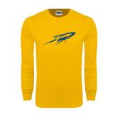 Gold Long Sleeve T Shirt-Rifle