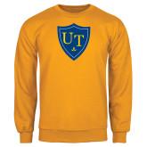 Gold Fleece Crew-University Mark