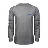 Grey Long Sleeve T Shirt-Rifle