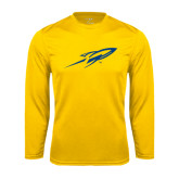 Syntrel Performance Gold Longsleeve Shirt-Rifle