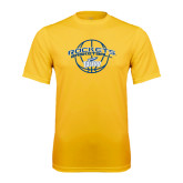 Syntrel Performance Gold Tee-Basketball