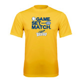 Syntrel Performance Gold Tee-Game Set Match