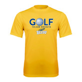 Syntrel Performance Gold Tee-Stacked Golf Design