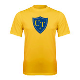 Syntrel Performance Gold Tee-University Mark