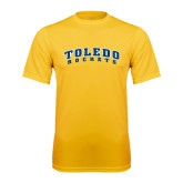 Syntrel Performance Gold Tee-Arched Toledo Rockets
