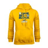 Gold Fleece Hoodie-Game Set Match