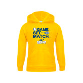 Youth Gold Fleece Hoodie-Game Set Match