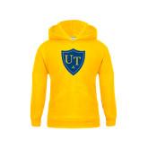 Youth Gold Fleece Hoodie-University Mark