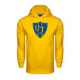 Under Armour Gold Performance Sweats Team Hoodie-University Mark