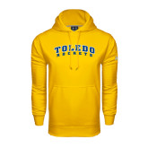 Under Armour Gold Performance Sweats Team Hoodie-Arched Toledo Rockets