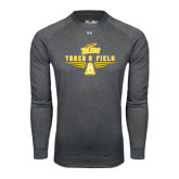 Under Armour Carbon Heather Long Sleeve Tech Tee-Track and Field