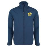 Navy Softshell Jacket-Cross Country