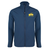Navy Softshell Jacket-Track and Field