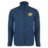 Navy Softshell Jacket-Swimming and Diving