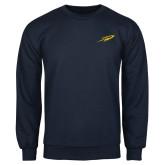 Navy Fleece Crew-Rocket