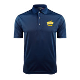 Navy Dry Mesh Polo-Swimming and Diving