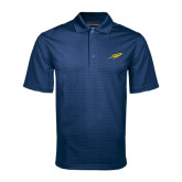 Navy Mini Stripe Polo-Rocket