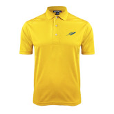 Gold Dry Mesh Polo-Rocket