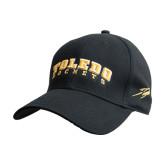 Black Heavyweight Twill Pro Style Hat-Arched Toledo Rockets