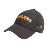 Charcoal Twill Unstructured Low Profile Hat-Arched Toledo Rockets