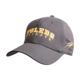 Charcoal Heavyweight Twill Pro Style Hat-Arched Toledo Rockets